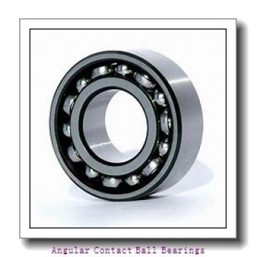 ISO QJ1252 angular contact ball bearings