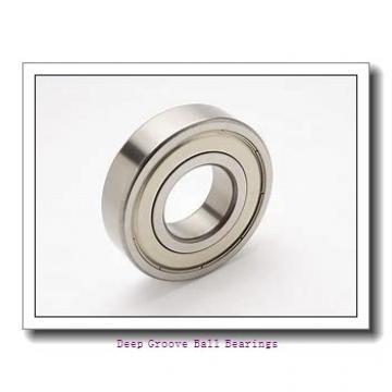25 mm x 52 mm x 27 mm  ISO SB205 deep groove ball bearings