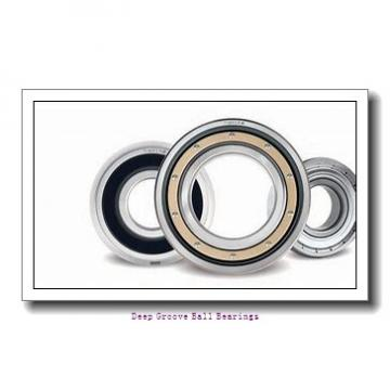 2,38 mm x 4,762 mm x 1,588 mm  NSK R 133 deep groove ball bearings