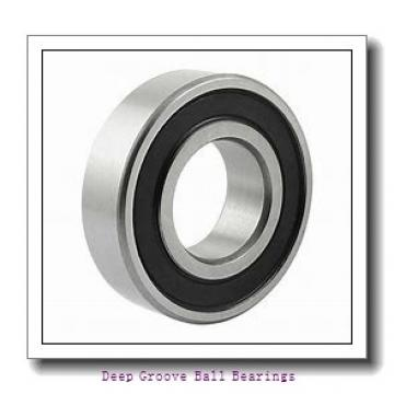 9 mm x 17 mm x 5 mm  ZEN S689-2RS deep groove ball bearings