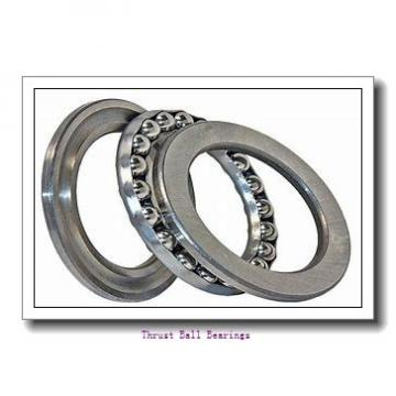 95 mm x 170 mm x 43 mm  SKF NUP 2219 ECP thrust ball bearings