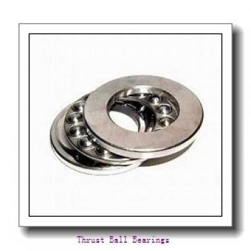 40 mm x 95 mm x 14 mm  NKE 54310+U310 thrust ball bearings