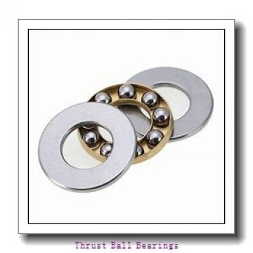12 mm x 32 mm x 10 mm  SKF BSA 201 CG-2RZ thrust ball bearings