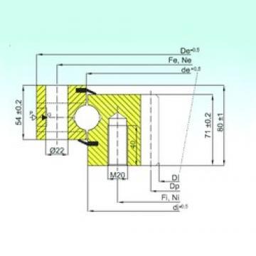 ISB ZB1.25.0655.200-1SPTN thrust ball bearings
