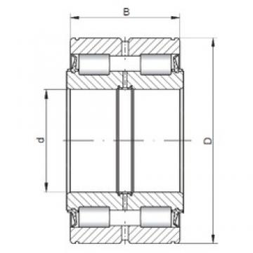 150 mm x 225 mm x 100 mm  ISO NNF5030 V cylindrical roller bearings