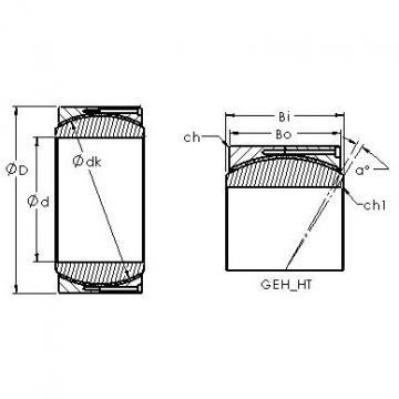 AST GEC360HT plain bearings