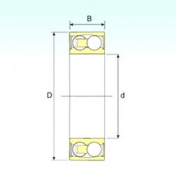 45 mm x 100 mm x 36 mm  ISB 2309-2RSTN9 self aligning ball bearings