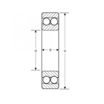 50 mm x 130 mm x 31 mm  SIGMA 10410 self aligning ball bearings