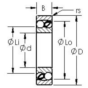AST 1201 self aligning ball bearings