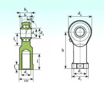 ISB TSF 30 BB self aligning ball bearings