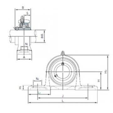 NACHI MUCP205 bearing units