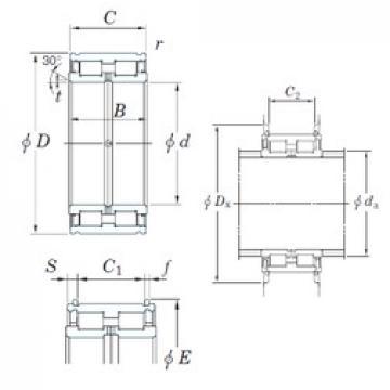 150 mm x 225 mm x 100 mm  KOYO DC5030NR cylindrical roller bearings