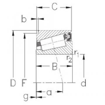 60 mm x 95 mm x 26 mm  NKE IKOS060 tapered roller bearings