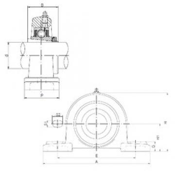 ISO UKP213 bearing units