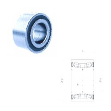 37 mm x 72 mm x 33 mm  PFI PW37720033CSM angular contact ball bearings