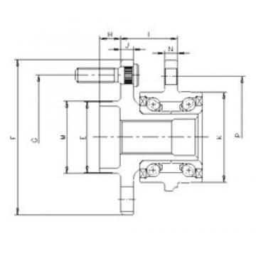 ILJIN IJ113022 angular contact ball bearings