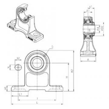 SNR UKPH210H bearing units