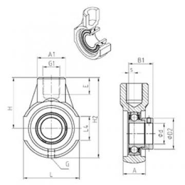 SNR ESEHE208 bearing units