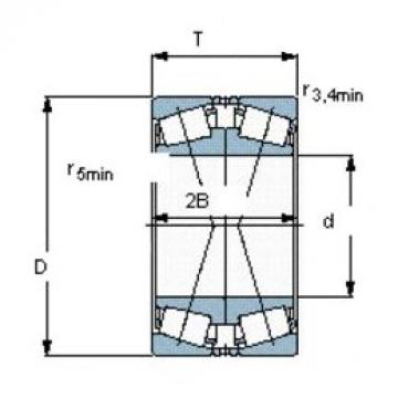 SKF 31305 J2/QDF tapered roller bearings