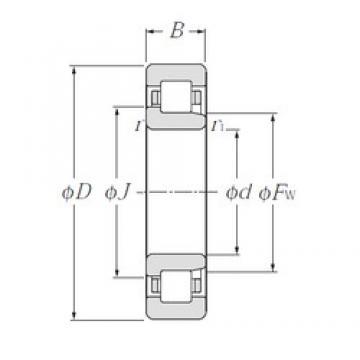 45 mm x 120 mm x 29 mm  CYSD NJ409 cylindrical roller bearings