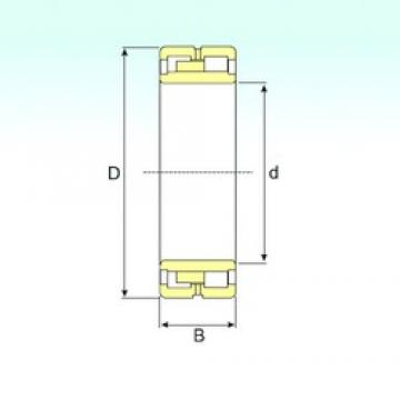 460 mm x 680 mm x 218 mm  ISB NNU 4092 M/W33 cylindrical roller bearings