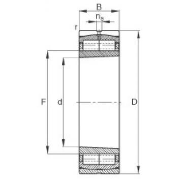 400 mm x 600 mm x 148 mm  FAG Z-565675.ZL-K-C5 cylindrical roller bearings