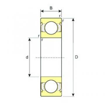 45 mm x 68 mm x 12 mm  ISB SS 61909-ZZ deep groove ball bearings