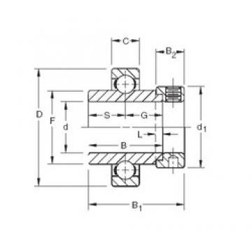 80,9625 mm x 140 mm x 80,96 mm  Timken SM1303K deep groove ball bearings