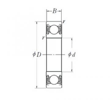 17 mm x 52 mm x 17 mm  NSK B17-99DDW8CG16E deep groove ball bearings