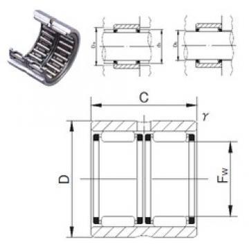 JNS RNAFW759560 needle roller bearings