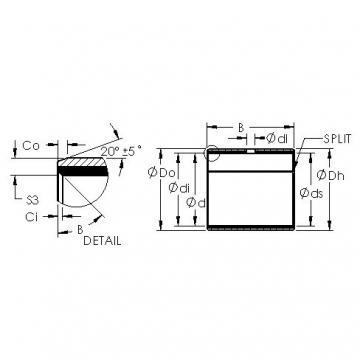 AST AST50 58IB64 plain bearings