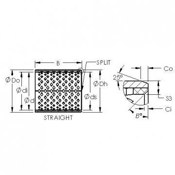 AST AST090 25090 plain bearings