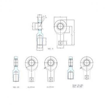 SKF SIA80ES-2RS plain bearings
