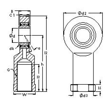 AST SIJK18C plain bearings