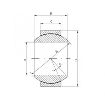 12 mm x 26 mm x 15 mm  ISO GE 012 HCR plain bearings