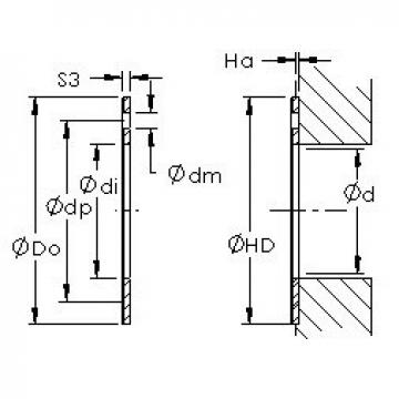 AST AST50 WC20IB plain bearings