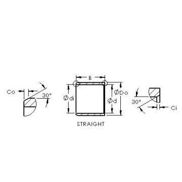 AST ASTEPB 0608-06 plain bearings