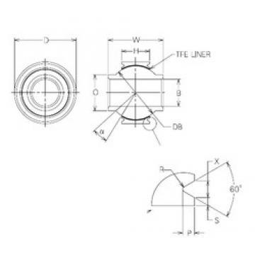 15 mm x 33 mm x 15 mm  NMB MBYT15V plain bearings