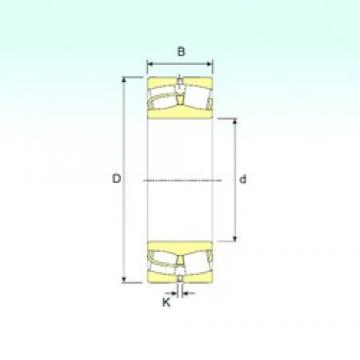 530 mm x 650 mm x 118 mm  ISB 248/530 spherical roller bearings