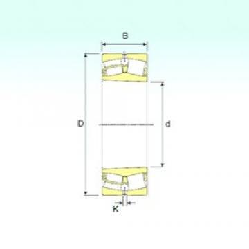 200 mm x 420 mm x 138 mm  ISB 22340 KVA spherical roller bearings