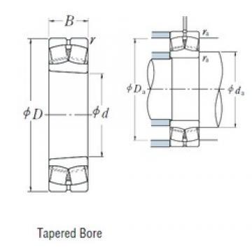65 mm x 120 mm x 31 mm  NSK 22213EAKE4 spherical roller bearings