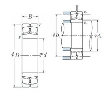 80 mm x 170 mm x 58 mm  NSK 22316EAE4 spherical roller bearings