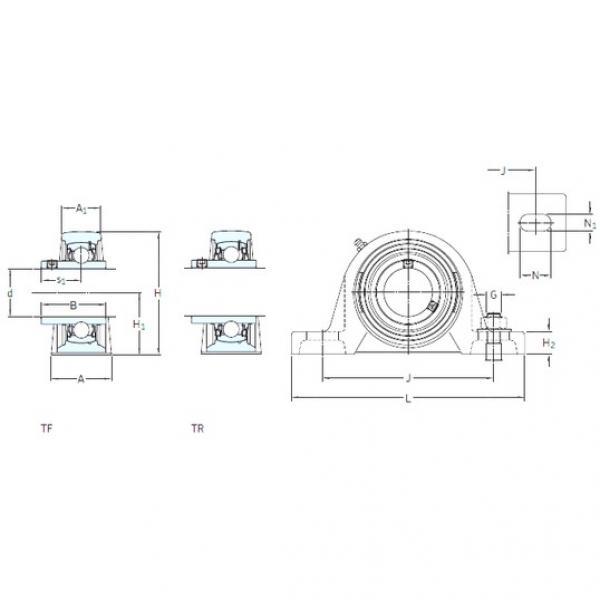 SKF SY 1.1/2 FM bearing units #2 image