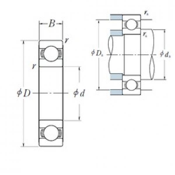 800 mm x 1060 mm x 115 mm  NSK 69/800 deep groove ball bearings #2 image