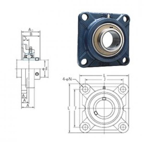 FYH UCF211-35E bearing units #2 image