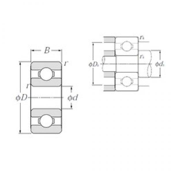 7 mm x 13 mm x 3 mm  NTN BC7-13 deep groove ball bearings #2 image