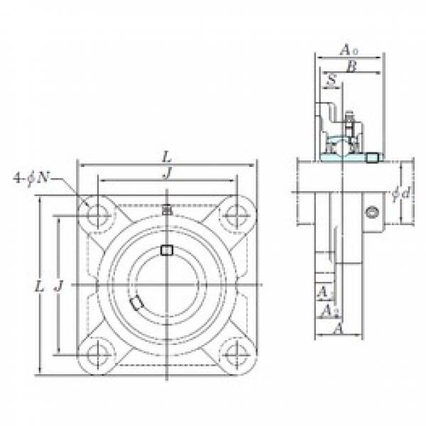 KOYO UCF320-63 bearing units #2 image