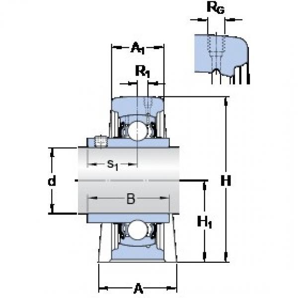 SKF SYF 30 TF bearing units #2 image