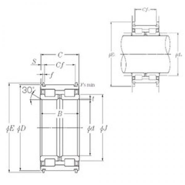 260 mm x 400 mm x 190 mm  NTN SL04-5052NR cylindrical roller bearings #2 image