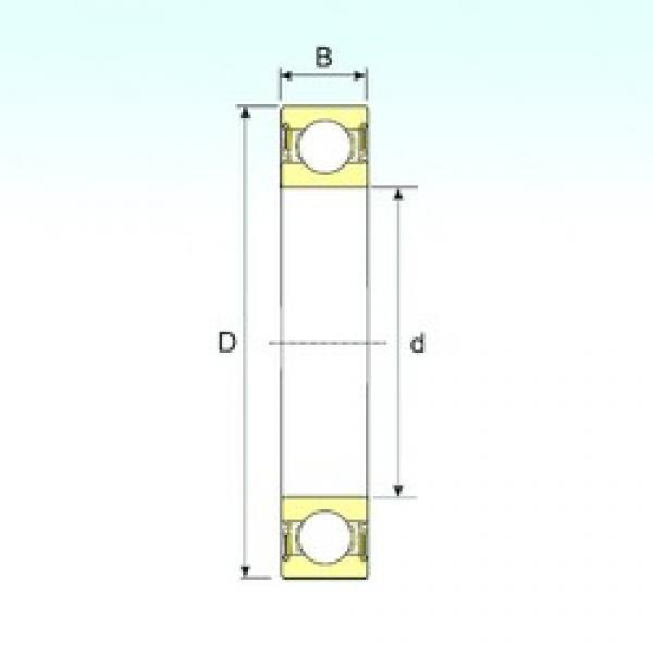 25 mm x 52 mm x 18 mm  ISB 62205-2RS deep groove ball bearings #2 image